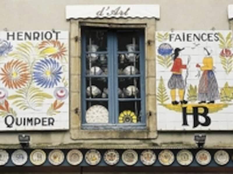 カンペールの陶器はフランスを代表する工芸品