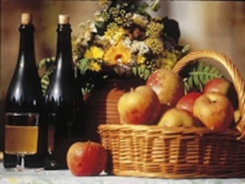 北西部では、ワインではなくシードルを©GRATIENJean-Patrick