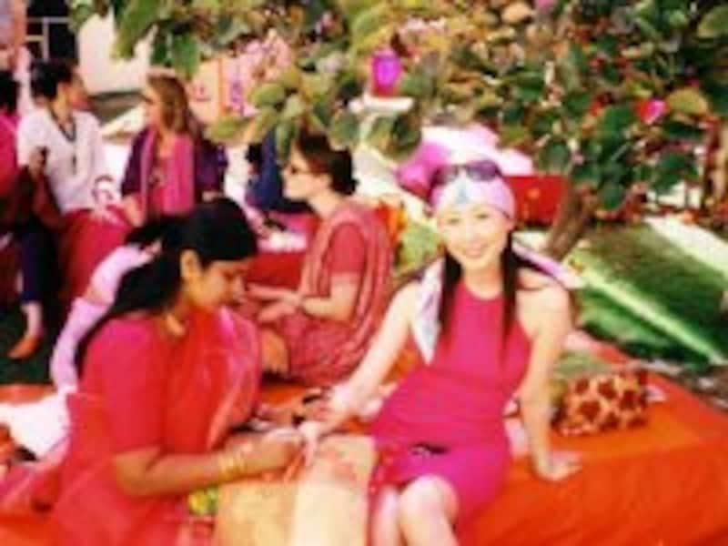 インドで結婚式に出席
