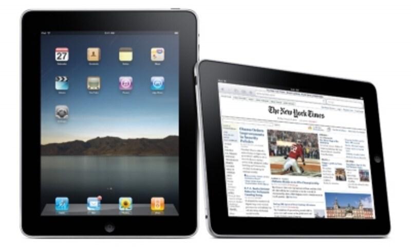 使い勝手はiPhoneとほぼ同じ。ホーム画面にはアプリが並び、Webサイトの閲覧も指を使ってできる