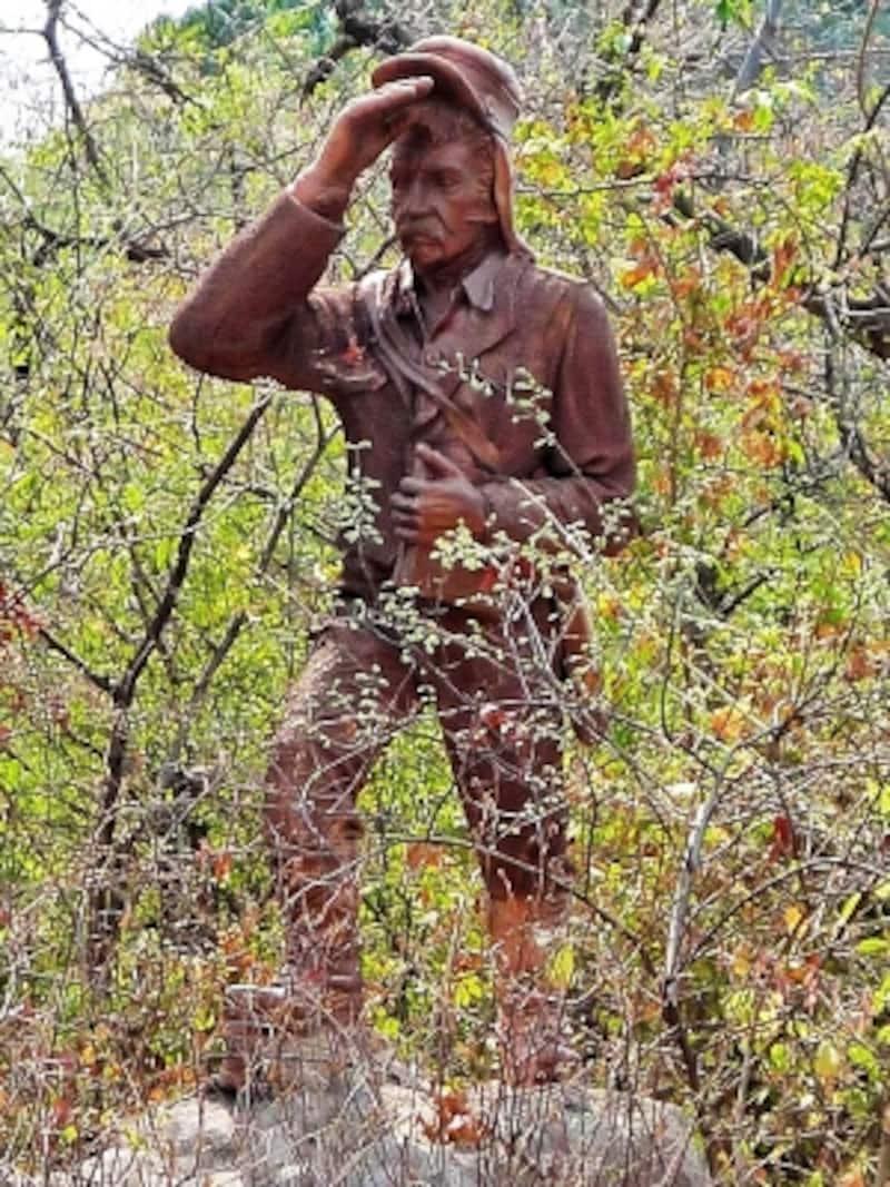 デイヴィッド・リビングストン像