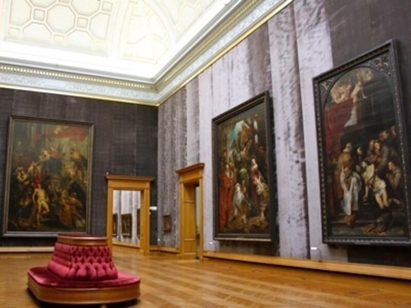 ルーベンスの大型作品も多数所蔵