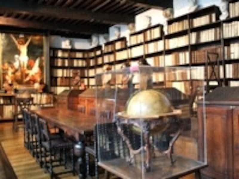 17世紀の図書館も