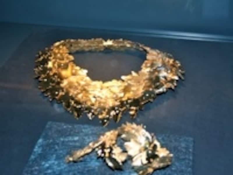 貴重なダイヤの展示も