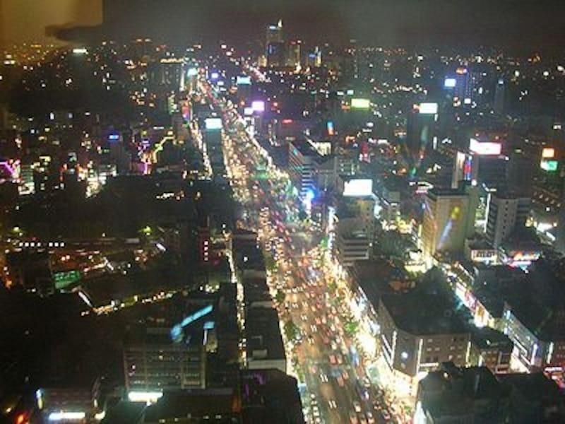ソウルの夜景はキラキラの宝石箱みたい!