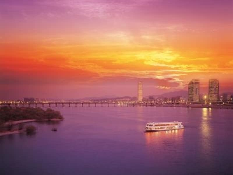 国会議事堂や63ビルディング、漢江に架かる橋の数々を見ることができます
