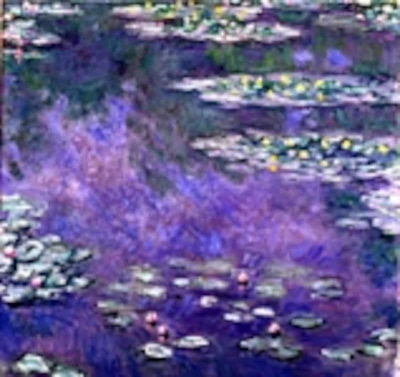 『睡蓮』クロード・モネ油彩・キャンバス 1907年 90×93cm
