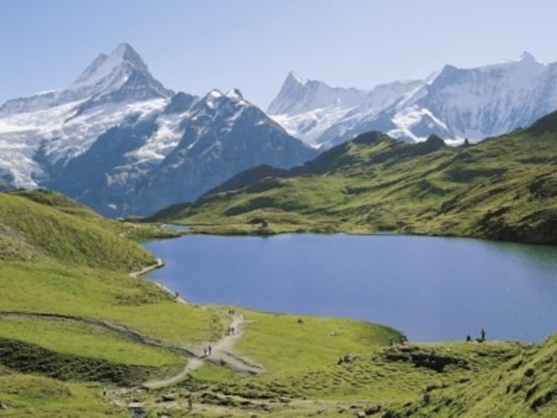 フィルストからハイキングで山上の湖、バッハアルプゼーへ
