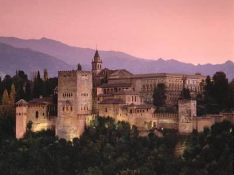 アンダルシア地方のツアーには必ず組み込まれているアルハンブラ宮殿