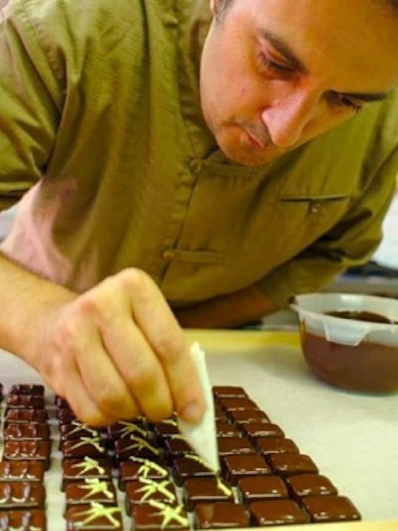 職人技が光るベルギーのチョコレート©StefanJacobs