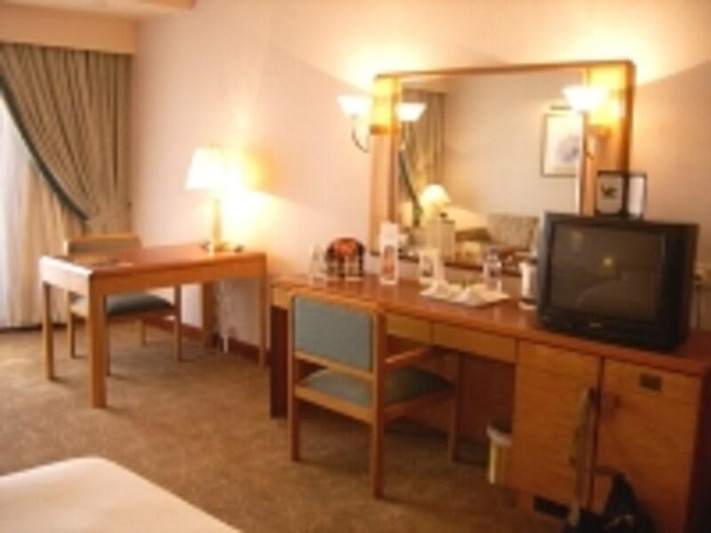 クラブフロアーの通称「さくらルーム」は日本人客に人気です