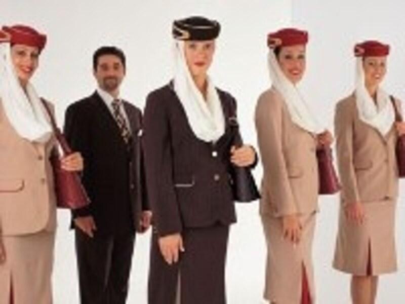 ドバイを拠点に働く国際色豊かなキャビンクルー CopyrightOfEmiratesAirlines