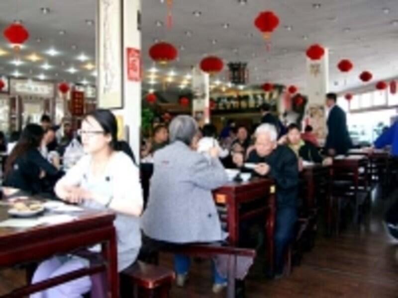 """近代化の進む北京だが、昔ながらの""""素朴さ""""が町のあちこちに残る"""