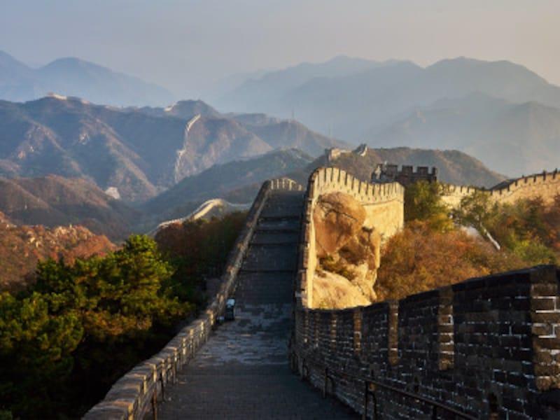 八達嶺の長城