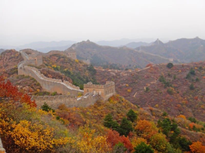 秋の八達嶺