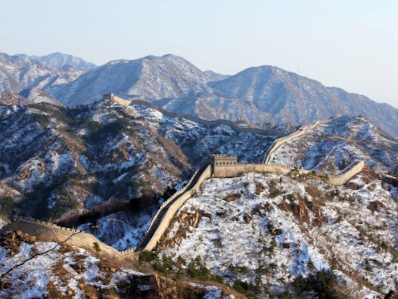 冬の八達嶺長城