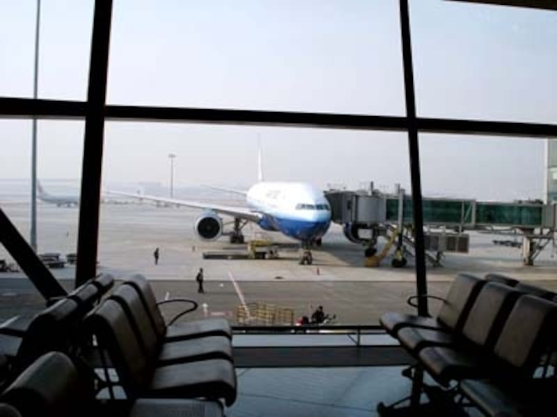 滑走路3本の大型空港