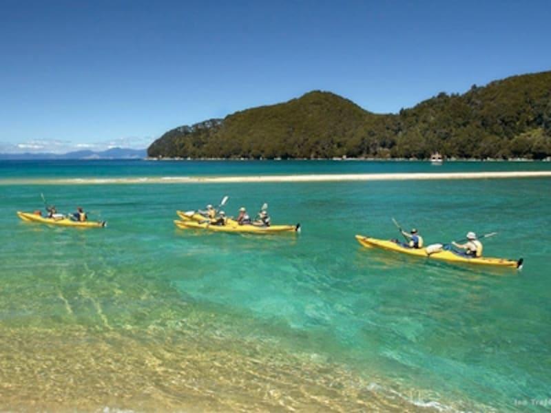 アクティビティーでニュージーランドの大自然を満喫