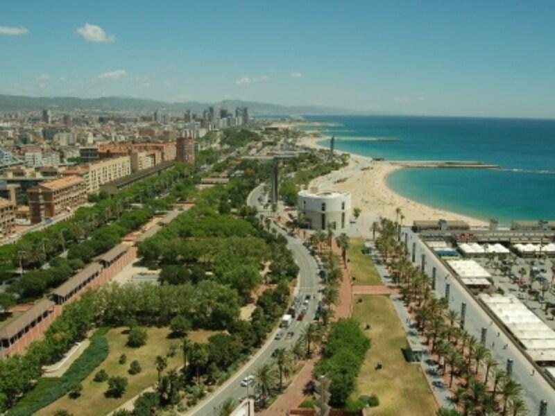 モニュメントや美術館だけじゃなく海あり丘ありのバルセロナ