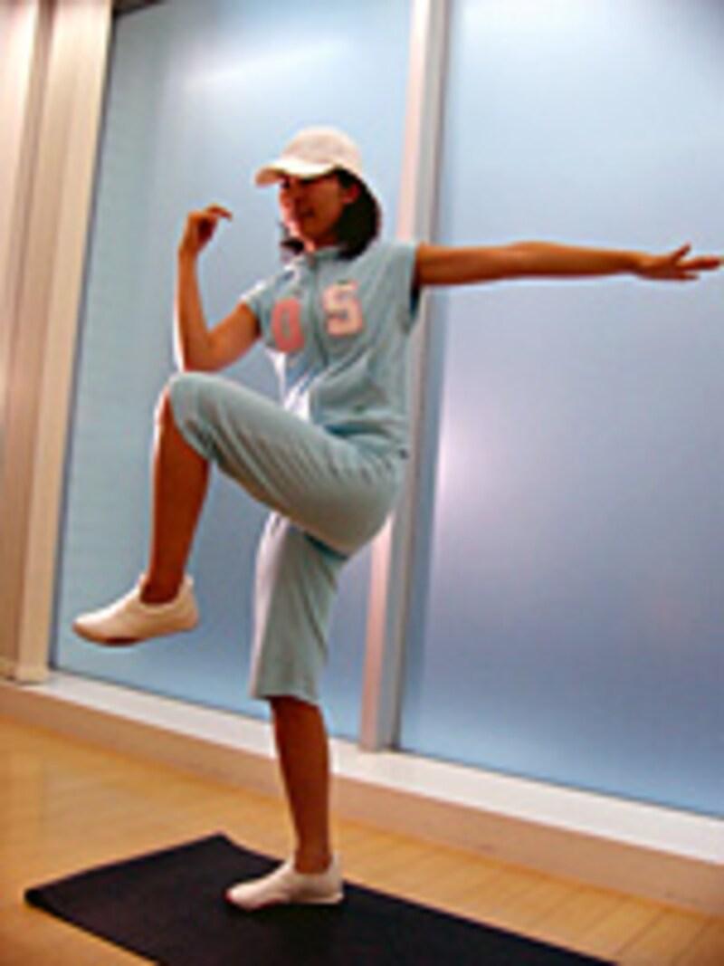 腰骨の上付近を鍛えるエクササイズ
