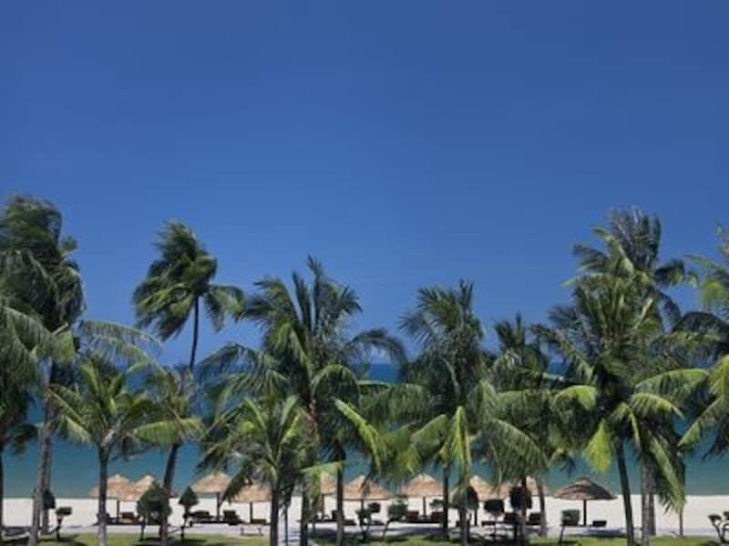 シェラトン・ニャチャン・ホテル&スパ前のビーチ