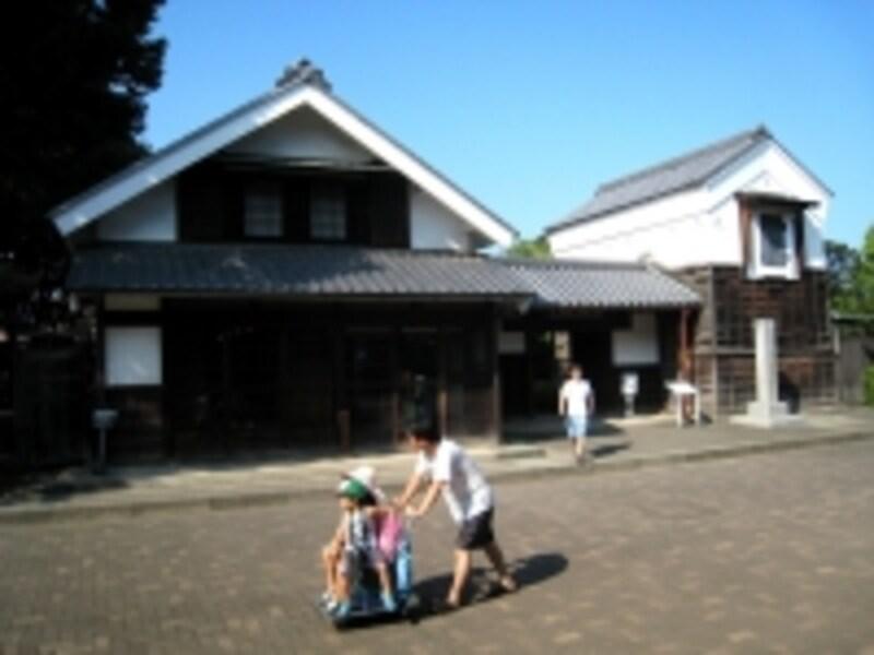 府中の森博物館内旧田中家住宅