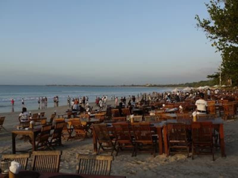 バリ島のレストラン9