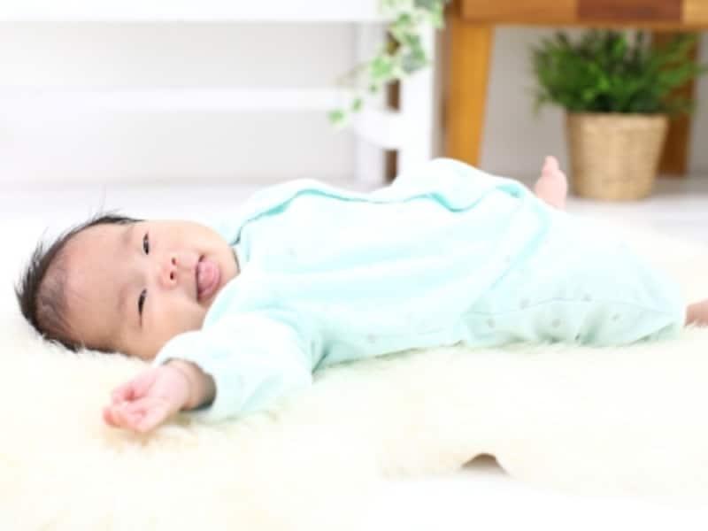 生後3カ月になると体重は生まれた時の2倍程に