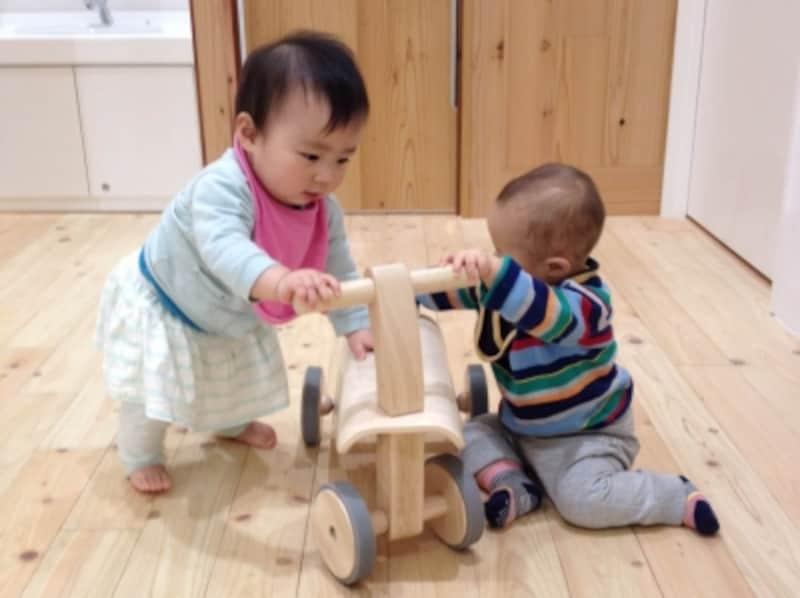 生後11か月の赤ちゃん