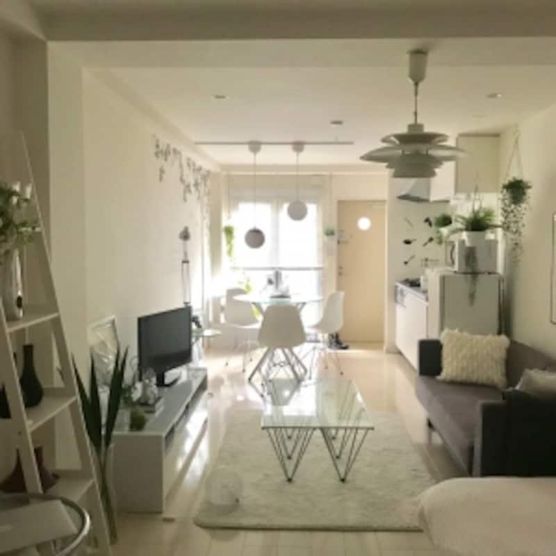 部屋を広く見せるコツ