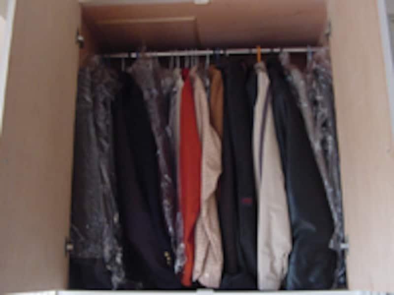 増える衣類