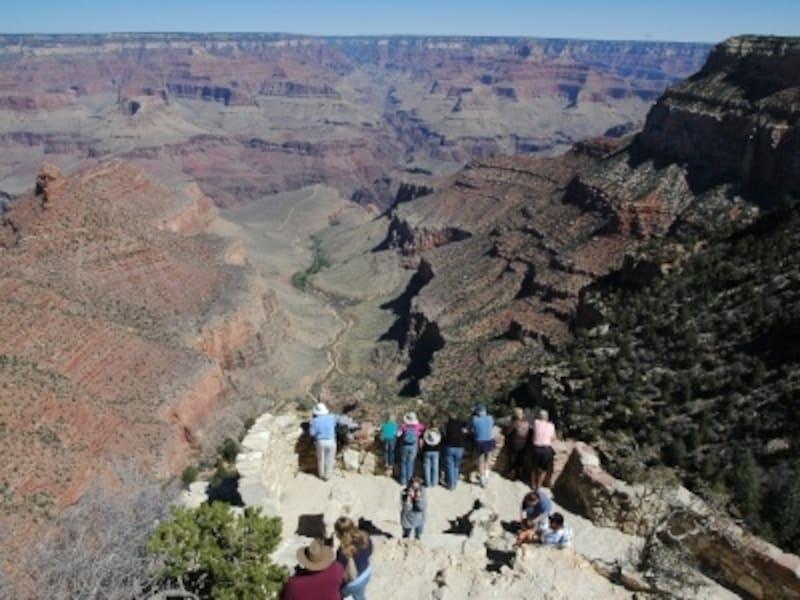 世界遺産にも登録されているグランドキャニオン国立公園