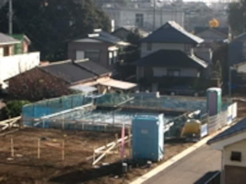 建設中の様子