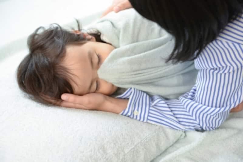 冬寒い家では子どもが布団をはがないか心配で夜安眠できません。