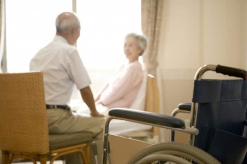 高齢者の寝室はリビング機能を兼ねることも