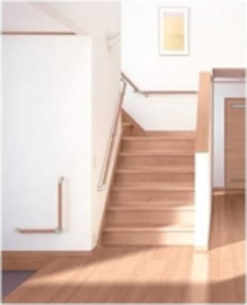 安全な階段の条件を整理してみましょう(画像提供:LIXIL)