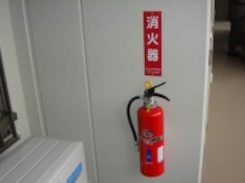 マンションのどこに消火器があるか把握していますか?