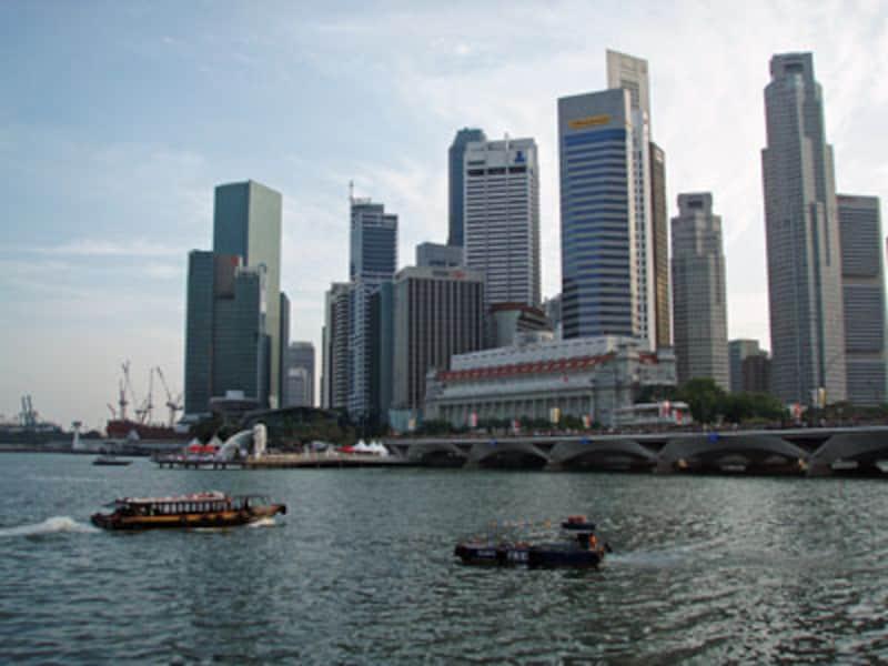 近代的なシンガポールの光景