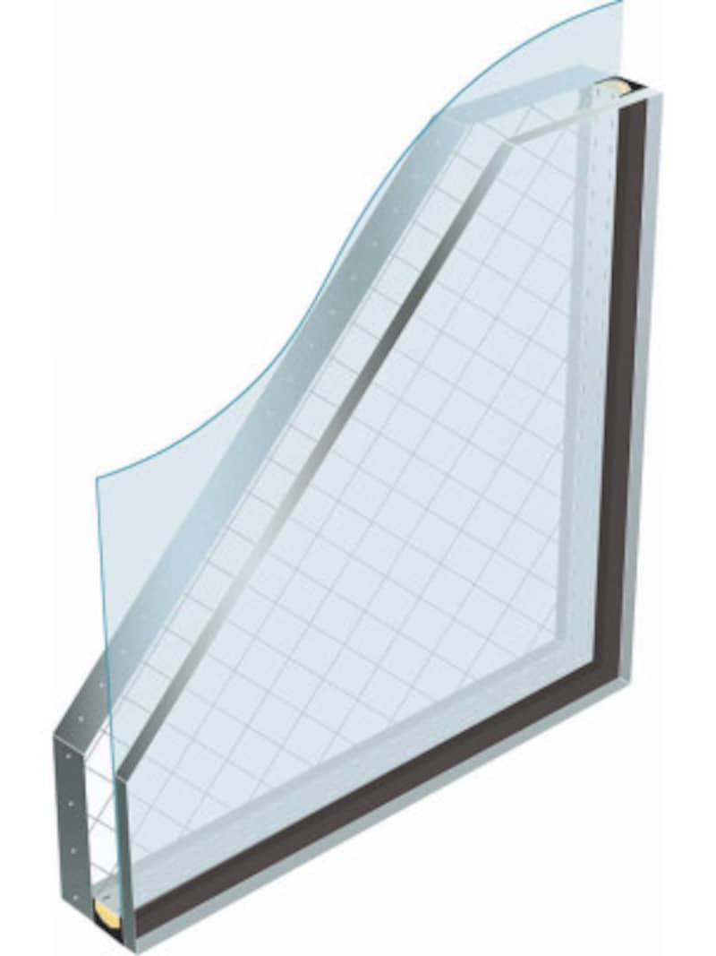 [Low-E複層ガラス 断熱タイプ 網入りガラス] YKKAP