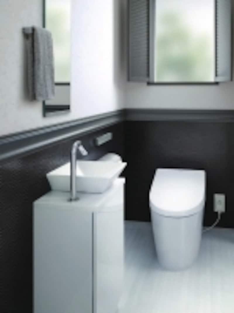 気になる汚れを防ぐ壁材、汚れが染み込まず、日ごろのお手入れが簡単な大判セラミックの床材。[壁undefinedハイドロセラ・ウォールundefinedundefined床undefinedハイドロセラ・フロアJ]undefinedTOTOundefinedhttp://www.toto.co.jp/