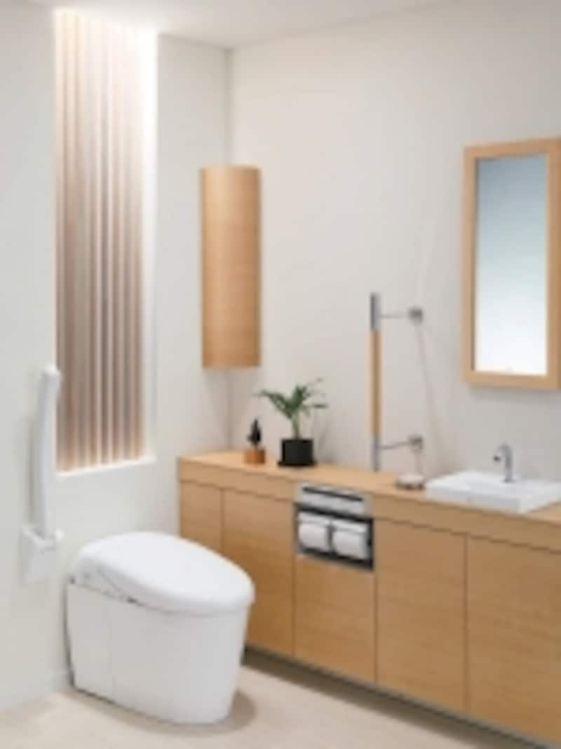 インテリア・バーやアームレストを備えたトイレであれば動きも楽に。undefined[ネオレストRH]undefinedTOTOhttp://www.toto.co.jp/