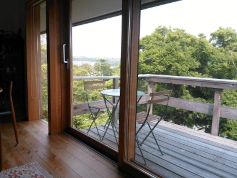 2階リビングでは眺望をとりこめるのも大きなメリット