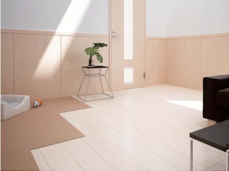 傷に強い特殊強化化粧シートを採用した壁材。ペットによる引っかき傷に強い壁材。[壁パネル・腰パネル/Hapiabasis(ハピア・ベイシス)]undefinedundefinedDAIKENundefinedhttps://www.daiken.jp/