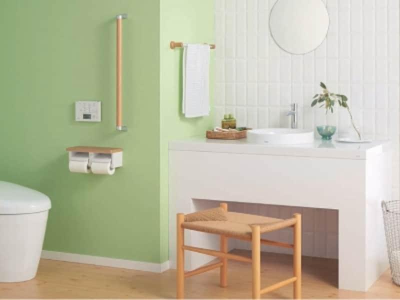 カウンターに据え置くタイプの陶器製の洗面器。さまざまな空間にコーディネートが可能。[ベッセル式洗面器undefinedLS703]undefinedTOTOundefinedhttps://jp.toto.com/