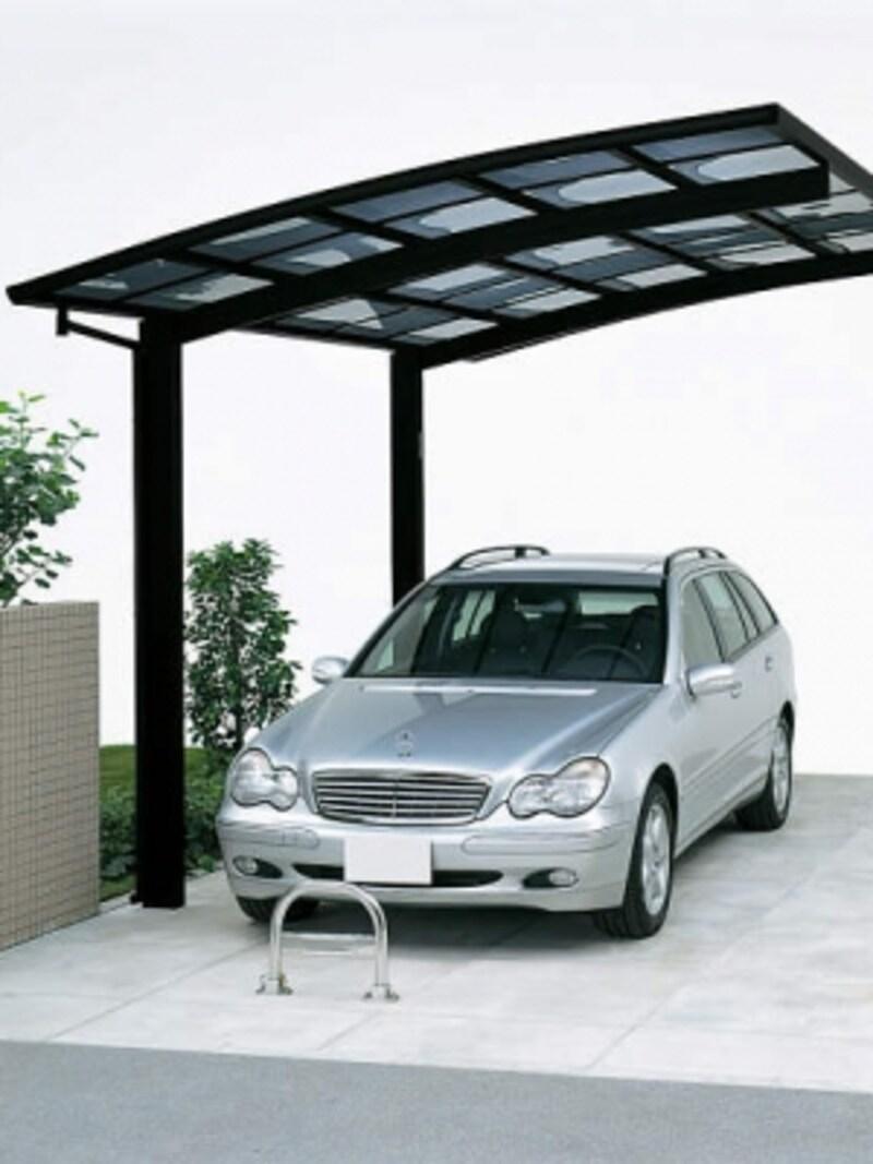 車止めや境界フェンスとして活用できる可倒式の車止め。車両盗難の抑止効果や他車の迷惑駐車防止にも。[車止め1型ストッパー:立ちYS]undefinedYKKAPhttp://www.ykkap.co.jp/