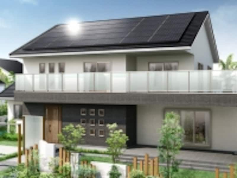 太陽光発電システムを取り入れる際には、事前に発電量のシミュレーションなどで確認したい。[ソーラーラック]