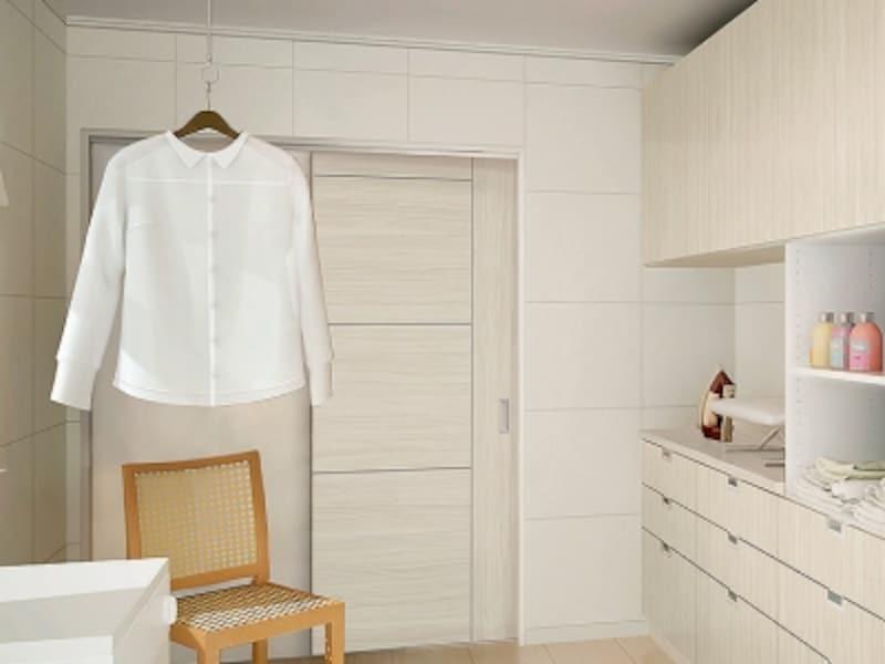 湿気を吸収・放出して湿度調整、イヤな臭いや有害物質も吸着。洗面室などにも適する内装材。undefined[モイスNT内装材]undefinedLIXILundefinedhttp://www.lixil.co.jp/
