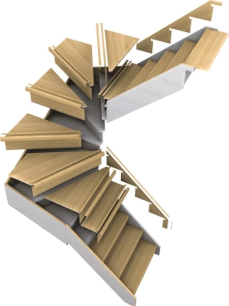 既存の階段に直貼りできるリフォーム専用階段部材。釘とボンドを併用し、上貼りするため仕上げもスピーディー。低コストでリフォーム可能。[ハピアベイシスリモデル階段部材]undefinedDAIKENhttps://www.daiken.jp/