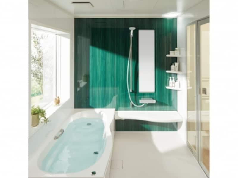 シャワー中心の入浴スタイルに適する「フルフォールシャワー」、お手入れを楽にする「まる洗いカウンター」なども。リフォーム対応力を向上した戸建住宅用。[アライズ]undefinedLIXILundefinedhttp://www.lixil.co.jp/lineup/