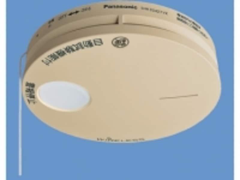 [SHK32427YKけむり当番薄型2種(電池式・ワイヤレス連動子器)(警報音・音声警報機能付)(和室色)]パナソニックエコソリューションズundefinedhttp://sumai.panasonic.jp/